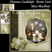 Christmas Candlelight - Border Card