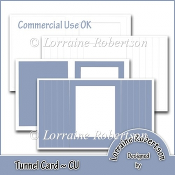 Tunnel Card Template