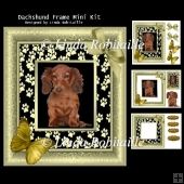 Dachshund Frame Mini Kit