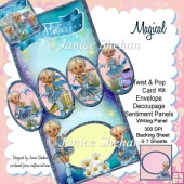 Magical Fairy 3D Twist and Pop Card Kit