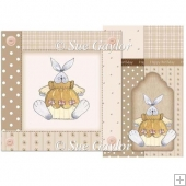 Happy Birthday Country Bunny Card Kit