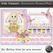 Side Stepper: Bunnykins Mummy/Mum