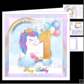 Rainbow Unicorn Aged 1 Mini Kit