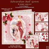 Edwardian Ball Gown - 3-Sheet Mini-Kit