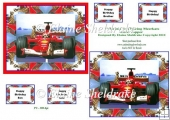 Meerkats Go Grand Prix F1 Racing - Card Topper