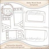 Baby Word Book Template Commercial Use