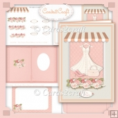 Dress shop card set