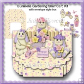 Bunnikins Gardening Shelf Card Kit