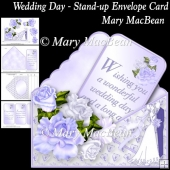 Wedding Day - Stand-up Envelope Card
