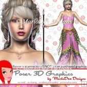 Fantasy Elf Poser Graphics Set 2