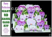 Pansy Perfection - Pop Up Easel Card Kit