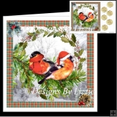 Two Little Christmas Birds Quick Card