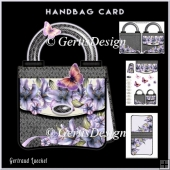 Handbag Card Kit Lillies