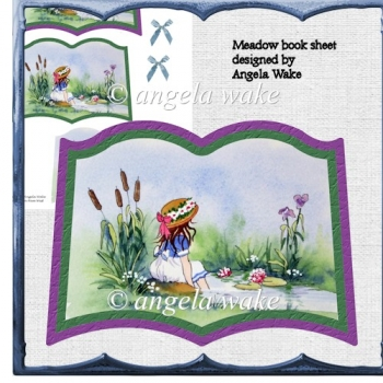 In the meadow book sheet card
