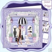 FASHION BOUTIQUE 7.5 Decoupage & Insert Card Kit