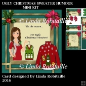 Ugly Christmas Sweater Humour Mini Kit