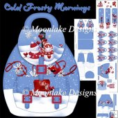 Cold Frosty Mornings Backpack Box Card Kit