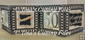 Accordian Card - 50 th Birthday - Anniversary