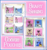 Beary Spring Cookie Pouches with Crafting Directions