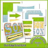 Son ~ Over The Edge Easel Card.