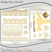 Scalloped Open Book Kit