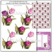 PNC GSD Enchanted Tulips Decoupage Set