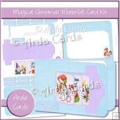 Magical Christmas Waterfall Card Kit