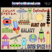 Outer Space Clipart Graphics Download