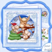 Special Christmas Friendship 8x8 Decoupage Kit