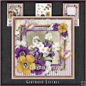 Vintage Shabby Chic Blossom Card Kit 1158