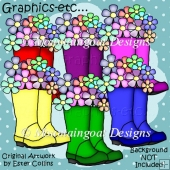 Welly Boots - Clipart