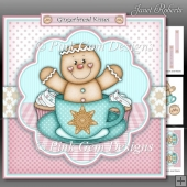 Teacup Gingerbread Man Mini Kit