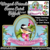 Winged Friends Card Topper