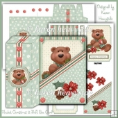 Thicket Christmas 2 Gift Box Card