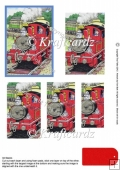Tobias The Tank Engine 3d pyramage / stackers sheet KS