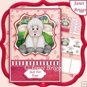 JUST FOR EWE A5 Decoupage & Insert Mini Kit Various Occasions