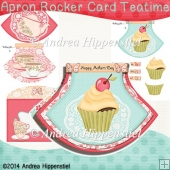 Teatime 2 Apron Rocker Card