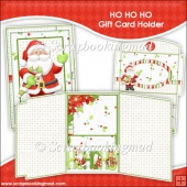 HO GO HO Gift Card Holder & Envelope