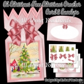 Oh Christmas Tree Christmas Cracker Card & Envelope