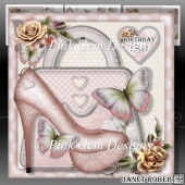 Pink Shoes & Handbags Mini Kit