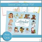 Seasonal Cute Calendar PDF