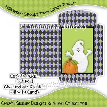 Halloween Spooky Town Candy Pouch (1)