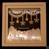 Winter Christmas Scene - Multi layered & suitable for Shadow Box