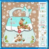 Christmas hand bag card kit-9