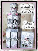 Feminine Wiles Stacking Hex Boxes for Gifts/Storage PLUS Card