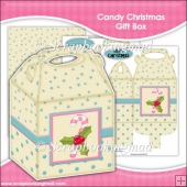 Candy Christmas Gift Box