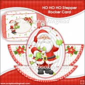 HO HO HO Rocker Stepper Card