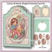 Comfy At Home Shaped Pyramid Card Kit