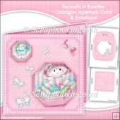 Bonnets N Bowties Easter Octagon Aperture Card