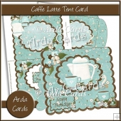 Caffe Latte Tent Card